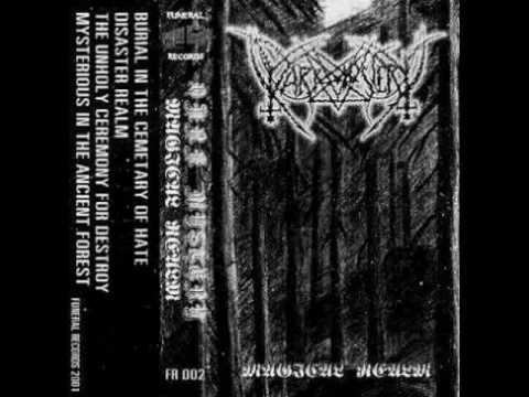 Dark Mystery - Burial in the Cemetary of Hate (2001) (Underground Raw Black Metal Thailand)