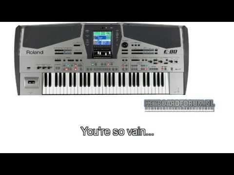 You're so vain - Roland E-80