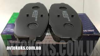 Тормозные колодки передние KIA Ceed Hyundai i30 PMC PKB E35