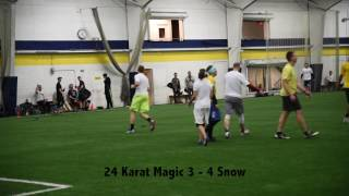 2017 cda winter league snow vs 24 karat magic week 7