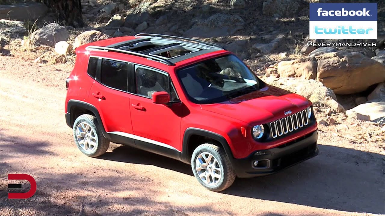 Jeep renegade top off