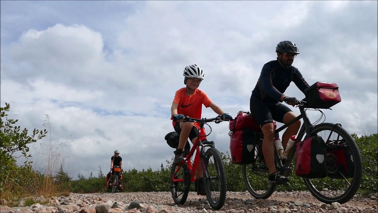 Newfoundland T'railway bikepacking 1.300 kilometres
