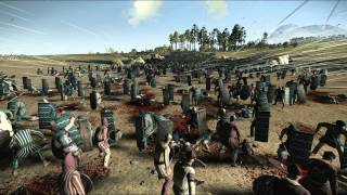 5000 Archers vs 13000 Eastern Spearmen Rome 2 Total War