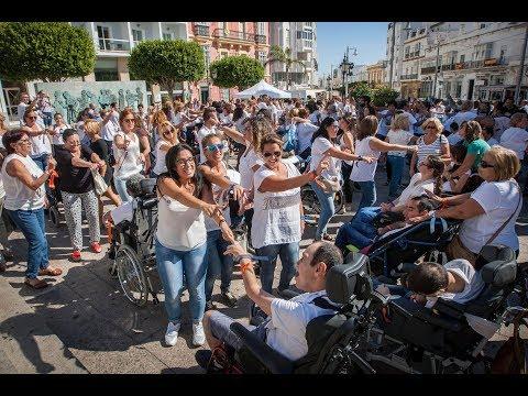 Flashmob de Upace San Fernando por el Día de la Parálisis cerebral