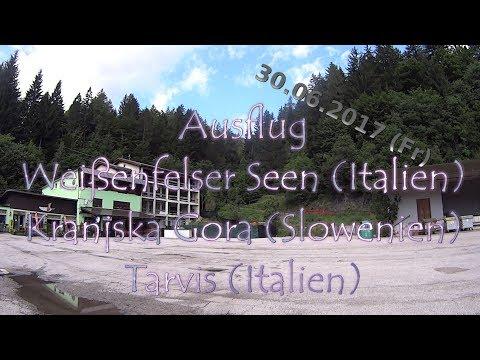 Fahrradtour Weißenfelser Seen - Kranjska Gora - Tarvis