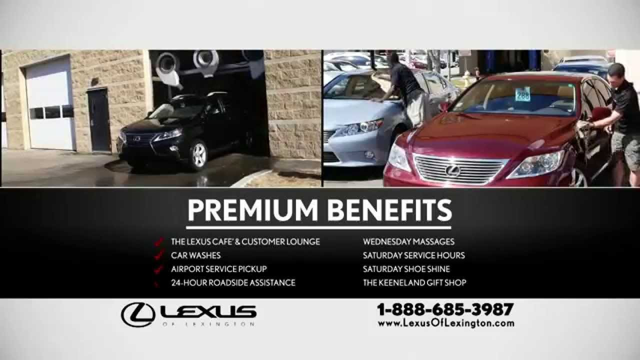 Elegant Enjoy Premium Benefits At Lexus Of Lexington!