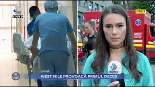 Stirile Kanal D (03.09.2021) - WEST NILE PROVOACA PRIMUL DECES! | Editie de seara