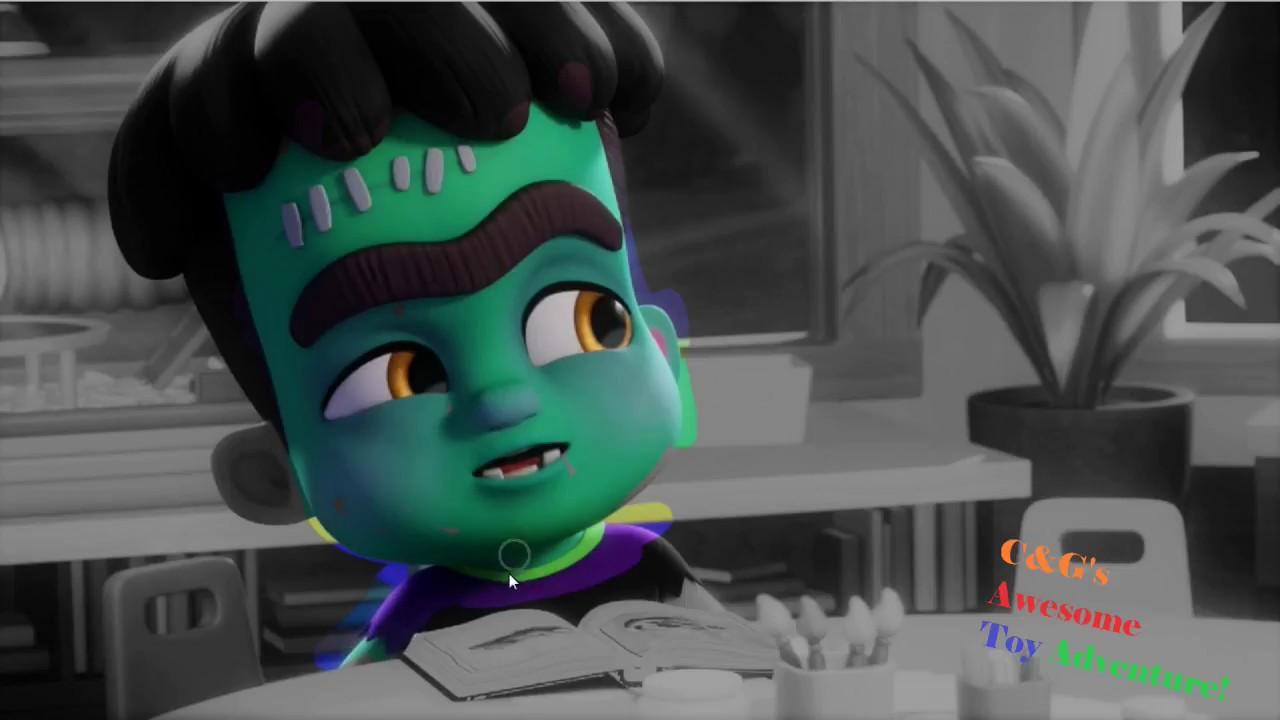 Super Monsters Netflix Frankie Mash Coloring Video Super