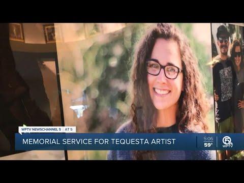 Memorial Service Held For Tequesta Artist Shot, Killed On Singer Island Beach