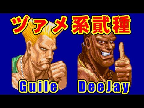 ヅァメ系弐種(Guile,DeeJay) in SUPER STREET FIGHTER II X for 3DO on GV-VCBOX