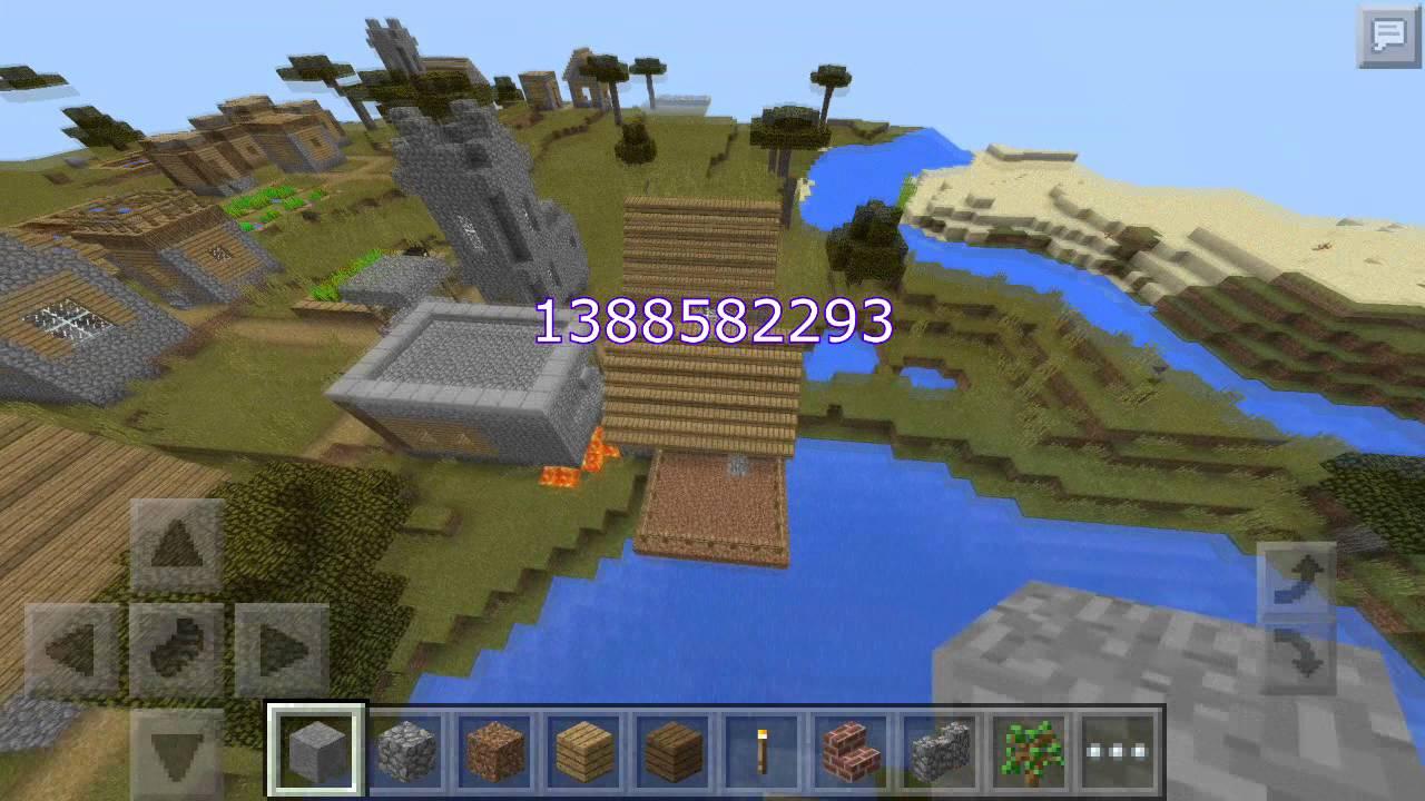 какой в майнкрафте сид в деревню 0.13.0 #6