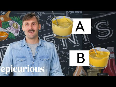 Condiment Expert Guesses Cheap vs Expensive Condiments | Price Points | Epicurious