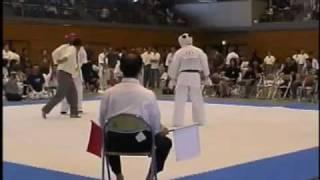 福田 晃 4級(安来) vs 瀧本 修 2級(極真會) 続いて 岡本 政徳 6級 (...