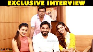 Nagesh Thiraiyarangam Team Fun Interview | Galatta Exclusive