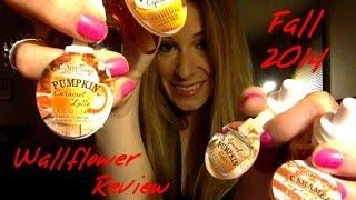 Bath & Body Works Fall 2014 Wallflower Bulb Review and Wallflower Collection Thumbnail