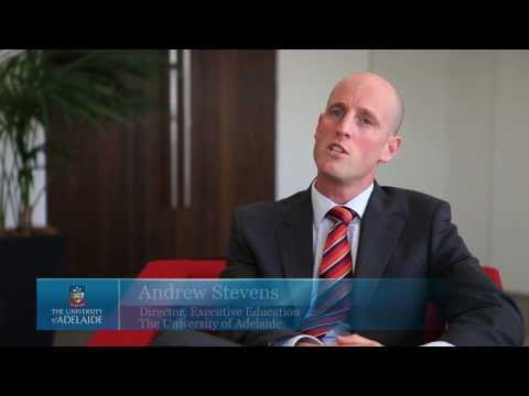 """Andrew Stevens Director Executive Education """"talks about the Professional Managemnet Program"""""""