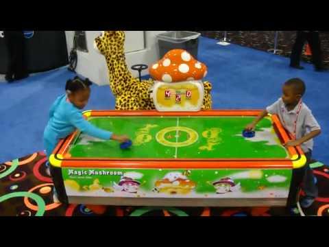 Magic World Kids Air Hockey Table Bmi Gaming Barron