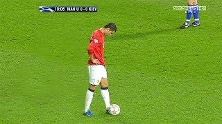 Cristiano Ronaldo Two Free Kicks in One Game, Three Times