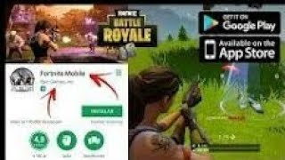 Download fortnite in Android from play store(FREE/EASY) || GAMING WITH AYUSH||
