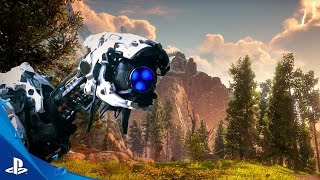 Horizon Zero Dawn - E3 2016 Watchers: Step out of the Game Trailer | PS4