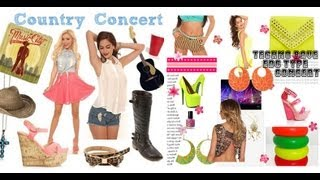 What to Wear to A Concert (Hip Hop, Pop, Country, House, Rock, Indie)