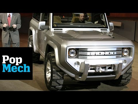 New  Ford Bronco Colors