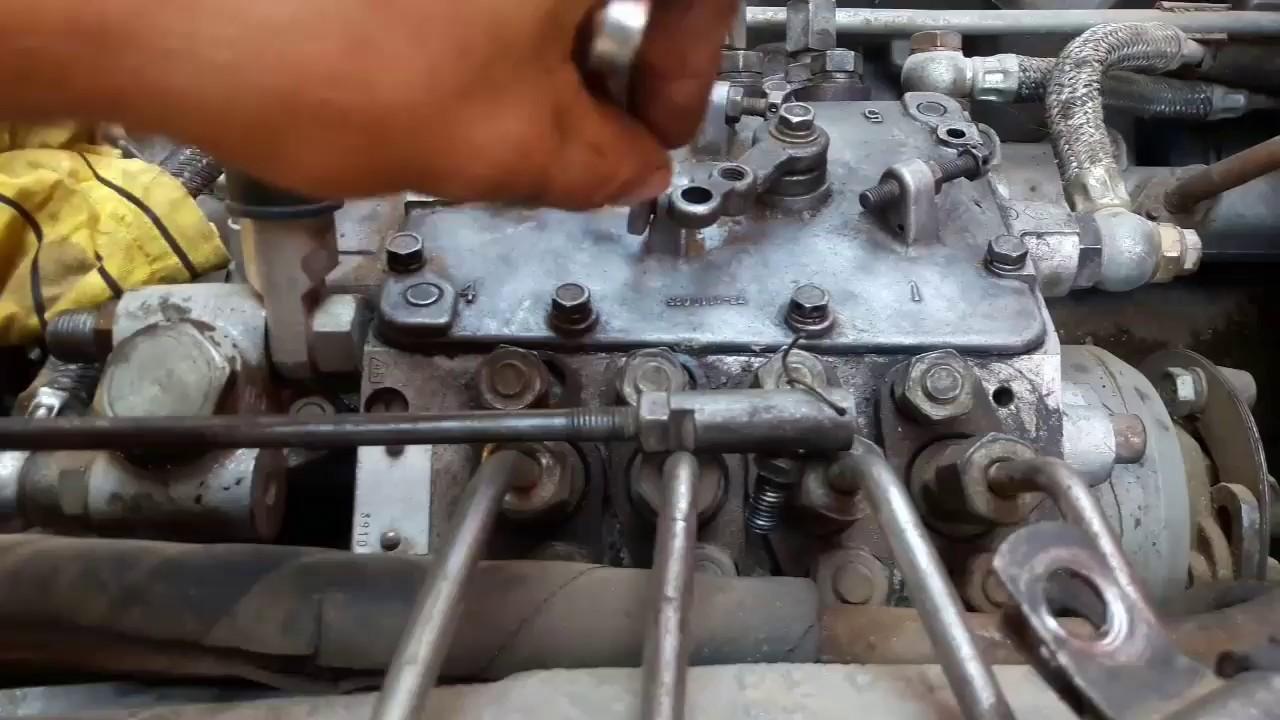 Как прибавить ,убавить топливо на тнвд камаз
