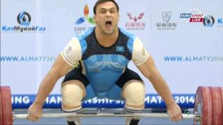 Тяжелая Атлетика Чемпионат мира Мужчины До 105кг Алма-Аты 2014