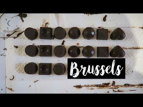 VLOG: Brussels, Belgium | Chocolate Making Workshop & Atomium & Mini Europe