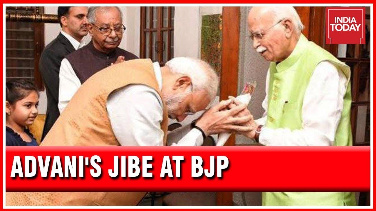 Did LK Advani Make Veiled Jibe At PM Modi & Amit Shah?