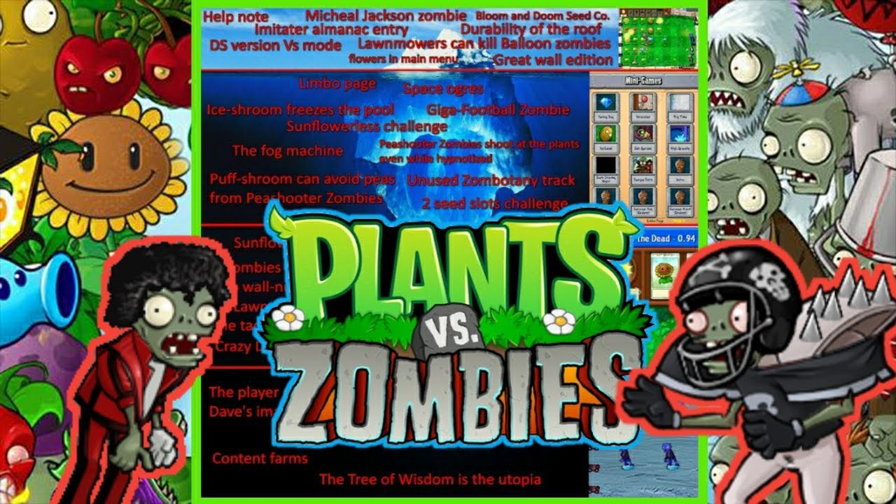 Explicando el Iceberg de Plants vs Zombies