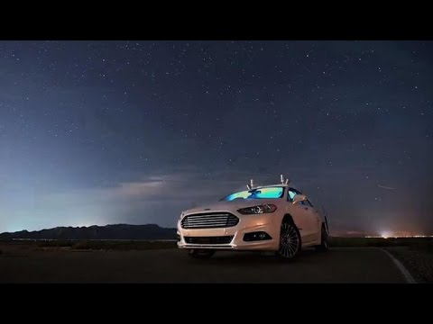 Ford's self-driving car works in total darkness (CNET Update)