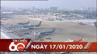 60 Giây Chiều - Ngày 17/01/2020   HTV Tin tức