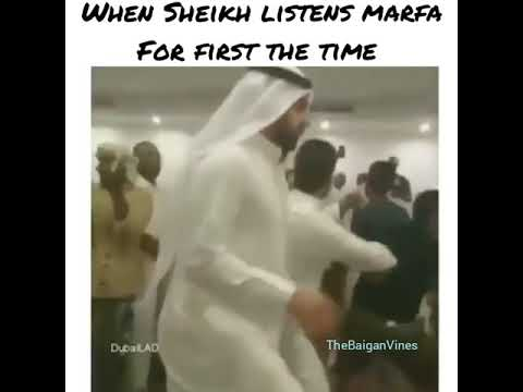 When Sheikh  listens marfa for the first time😂