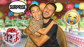 a Birthday Surprise My Dad Will Never Forget! 😭 | The Royalty Family