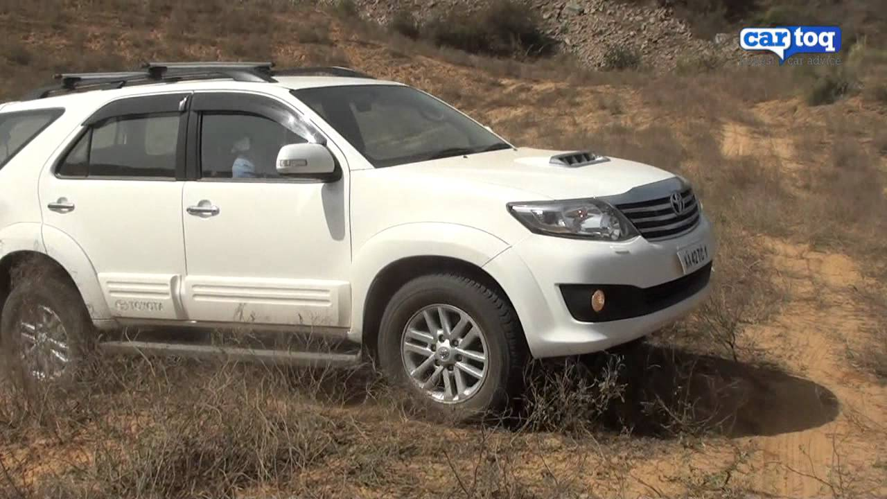 Toyota Fortuner Off Roading Video Review Cartoq Com Road Test Of