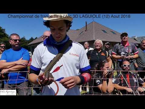 Championnat de france Tir à l'arc 3D Laguiole 2018
