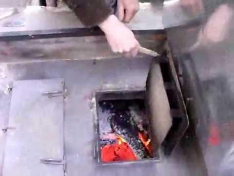 Пиролизная печь на шинах своими руками чертежи и принцип работы 156
