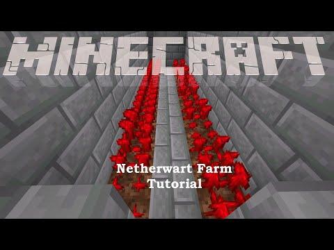 Nether Wart Farm Tutorial - Minecraft 1.15