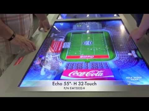 CyberTouch MultiTouch Technology at College Football Hall of Fame