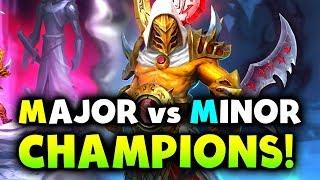 MAJOR vs MINOR CHAMPIONS! - PSG.LGD vs VGJ.STORM - MDL MAJOR DOTA 2