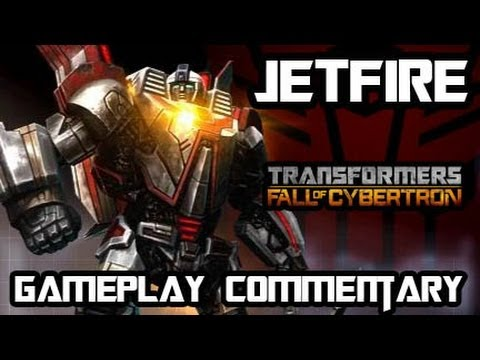 Transformers Fall of Cybertron - Jetfire Multiplayer Gameplay & Armor Set w/ Commentary