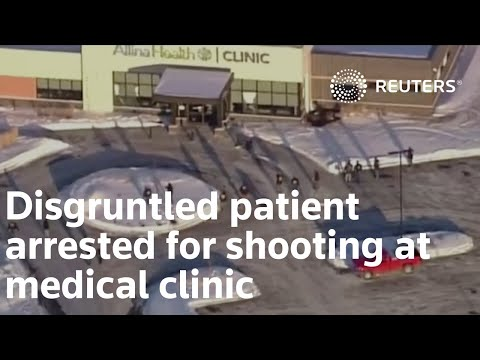 Elderly man arrested in Minnesota clinic shooting