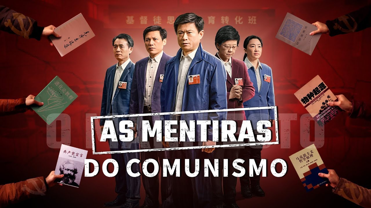 """""""As mentiras do comunismo"""" Considerações sobre a lavagem cerebral do partido – Filme gospel (Trailer)"""