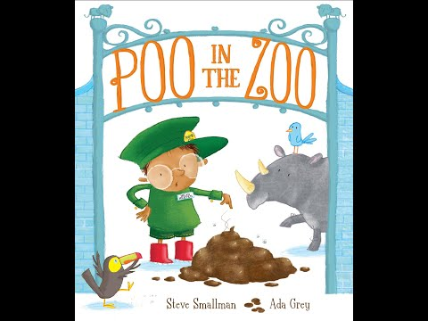 Poo in the Zoo - Bedtime stories for kids, read aloud. (Books for children).  😄