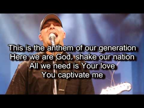 The Anthem   Jesus Culture   Jake Hamilton Worship Song with Lyrics Live From Chicago