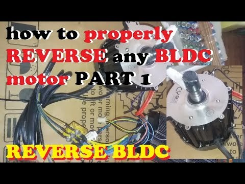 how to properly REVERSE any BLDC motor PART 1 - YouTube