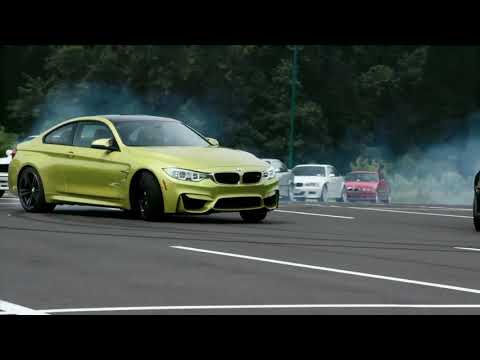 Inna - bad boys nightcore with bmw drift and performance