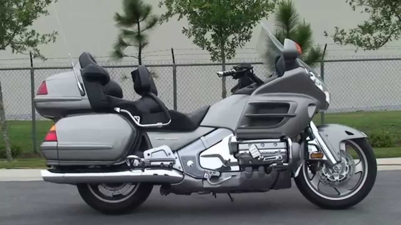 used 2002 honda goldwing gl1800 motorcycles for sale youtube. Black Bedroom Furniture Sets. Home Design Ideas