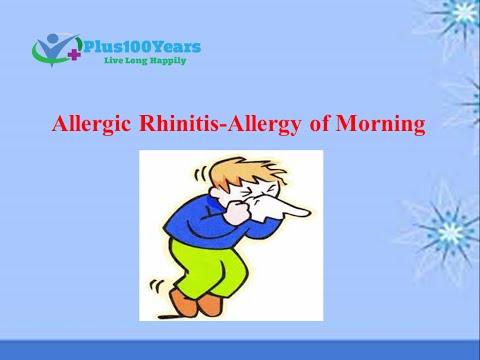 Symptoms & Causes of Nasal Allergy (Allergic Rhinitis) – Plus100years